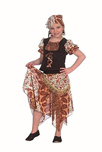 KARNEVALS-GIGANT Kleine Zigeunerin Kostüm Faschingskostüm für Mädchen