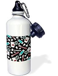 statuear Cute dentista higienista Dental aluminio 20oz 600ml Deportes botella de agua regalo