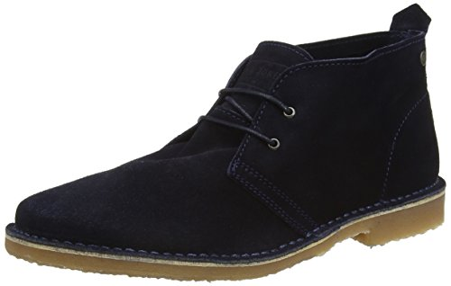 Jack and Jones Men Gobi Ankle Boots, Blue (Navy Blazer), 10 UK...