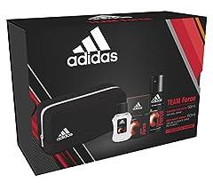 Idea Regalo - Confezione regalo Adidas team force edt 50ml + deo 150ml + toiletry small