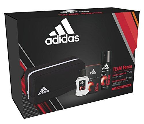 Confezione regalo Adidas team force edt 50ml + deo 150ml  + toiletry small