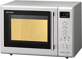 sharp r 68st a grill four micro ondes acier inoxydable puissance 800 w grill 1600 w capacit. Black Bedroom Furniture Sets. Home Design Ideas