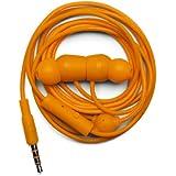Urbanears Bagis Écouteurs intra-auriculaires stéréo avec télécommande filaire + microphone intégré Orange