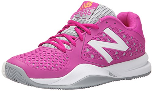 New Balance Women's 996v2 Tennis Shoe, Pink, 10 B US Pink