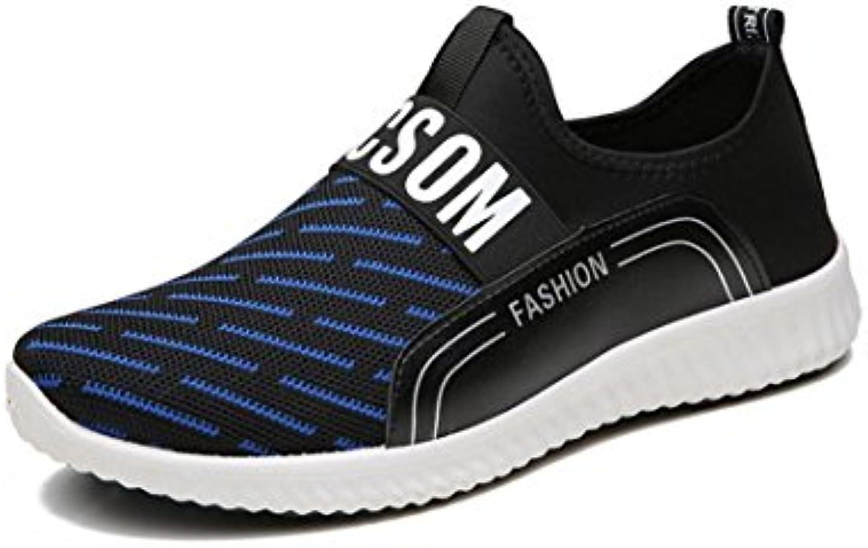 HYLM verano nuevos zapatos de moda coreana cómoda zapatos transpirables , blue , 40