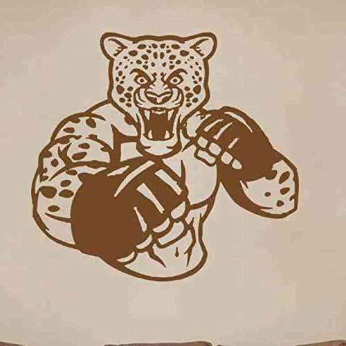 jiuyaomai Boxhandschuh Aufkleber Kick Boxer Spielen Auto Aufkleber Combat Poster Vinyl Striker Wandtattoos Wanddekor 58x64cm