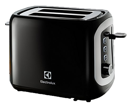 Electrolux Love Your Day - Tostadora, color negro