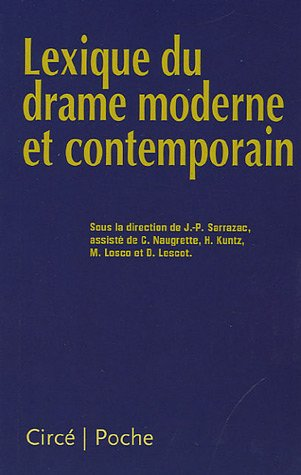 Lexique Du Drame Moderne Et Contemporain [Pdf/ePub] eBook