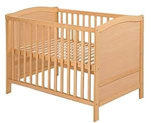 roba multifunktionsbett wandelbares beistellbett babybett natur kinderbett 60x120cm amazon. Black Bedroom Furniture Sets. Home Design Ideas