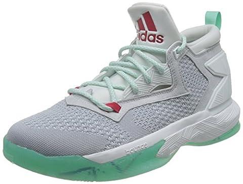 adidas D Lillard 2 PK - Chaussures de basket-ball Ligne Damian Lillard pour Homme, Gris, Taille: 44