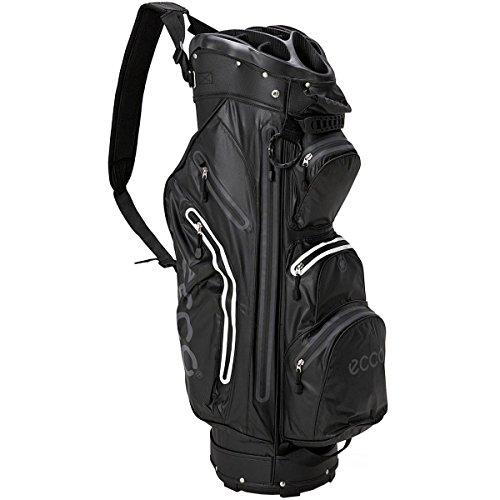 dc4c0e0b7e5c5b EccoCart Trolley Golf Tasche wasserdicht-14way Divider-9Taschen-schwarz