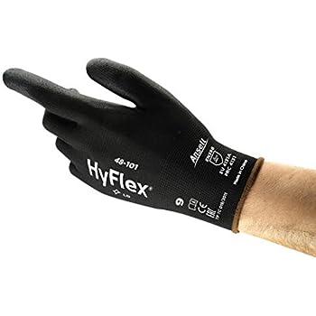 Ansell Hyflex 11-900 Guanto Oleorepellente Sacchetto di 12 Paia Blu Protezione Meccanica Taglia 7