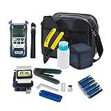 Trousse à outils fibre optique FTTH pratique avec fendeur de fibre FC-6S et compteur...