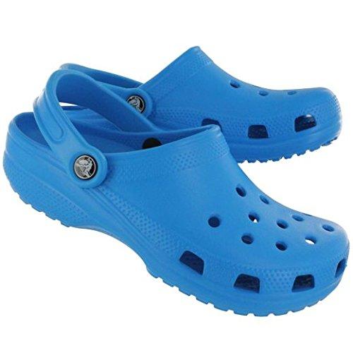 Crocs Classic - Sandalias - azul Talla 24-26 2017