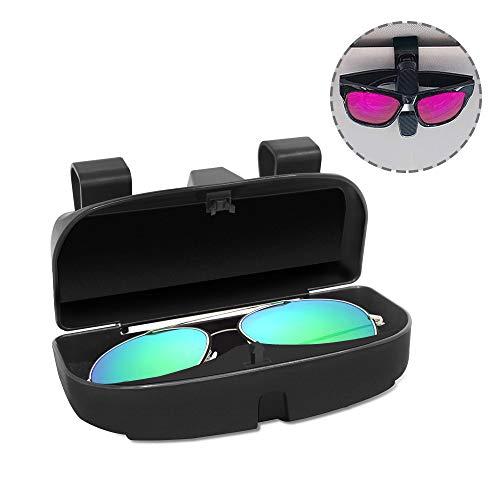 Senhai - Caja organizadora Gafas Gafas Clip Parasol