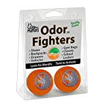 FootMatters Odor Fighters Shoe Deodorizer Balls (Contains 4 Balls) - Vanilla Scent - Lasts for Months
