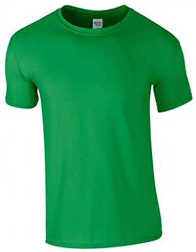 Gildan Softstyle? Ringspun T-Shirt Verde irlandese