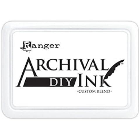 Ranger Archival 0 DIY almohadilla de tinta, blanco