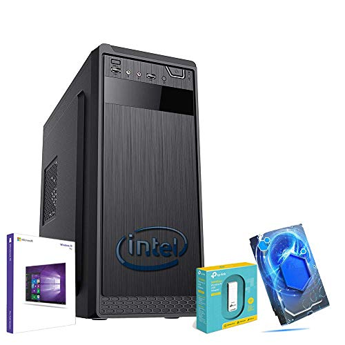 PC DESKTOP ASSEMBLATO RAM 8GB / HARD DISK 1.0TB HD 1000GB / S.O WINDOWS 10 ORIGINALE COMPUTER FISSO/CPU INTEL QUADCORE 2.00GHz PER CASA/UFFICIO COMPLETO CON OPEN OFFICE E ANTIVIRUS