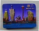 3D, Hongkong Macau China Kühlschrankmagnet, Souvenir Geschenk berühmten Tourist Fleck Home Dekoration Küche Dekoration