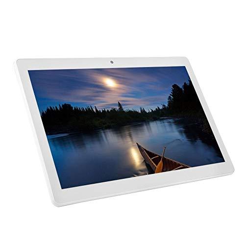 -Geschwindigkeit-E200 10,1 Zoll Tablet 1 GB RAM + 16 GB ROM WiFi 3D Stereo-Surround-Sound Smart Tablet für Android OS 8.1 System EU-Standard(Weiß) ()