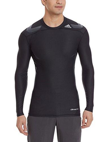 adidas Herren T-shirt TF Power LS Longsleeve, Black, M -