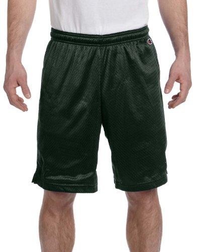 Champion 3.7 OZ. Mesh Short Athletic Dark Green