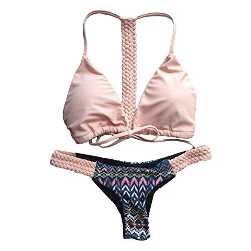 96ae08b5f191 yanhoo donna costumi interi costume da bagno intero bikini beachwear mare e  piscina, donne push