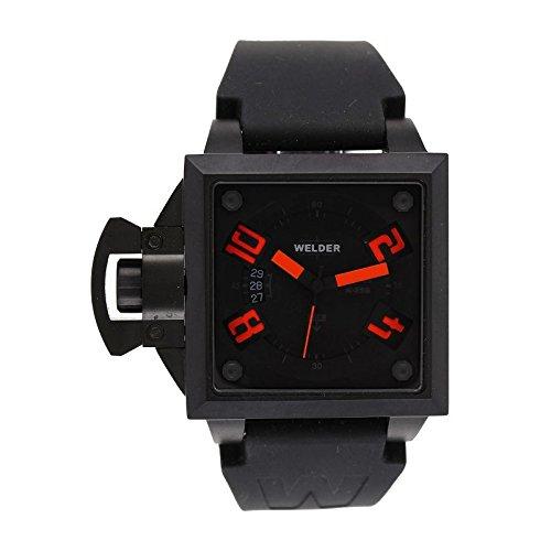 Coffret reloj Welder hombre K-25modelo Data negra y naranja–4500K25