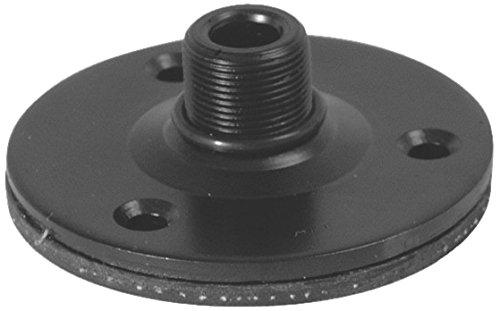 onstagestands tm08b Sockel Micro mit gummierter Oberfläche vibrationsfrei, schwarz