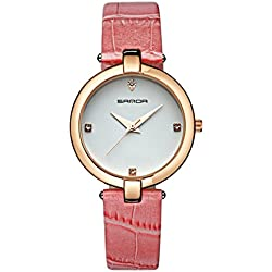 Fashion ladies quartz watch/ strap waterproof watch/Simple casual watches-C
