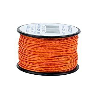 Atwood Seil Micro Cord Paracord 1,18 mm x 125 ft Spule USA hergestellt, Burnt orange