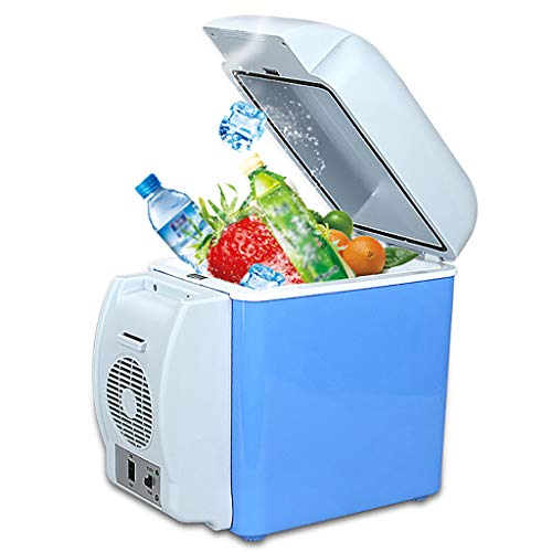Car Refrigerator 7.5L Auto KüHlschrank, Auto Dual-Use Tragbare Kleine KüHlschrank Heizung Und KüHlung Box Inkubator Thermostat, 12 V Auto HeißEn Und Kalten Kasten
