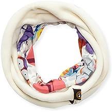 Buff Polar - Cinta de pelo para ciclismo para niña, color blanco