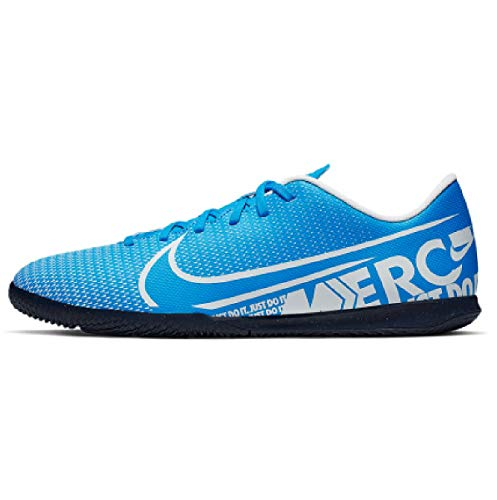 Nike Unisex-Erwachsene Vapor 13 Club Ic Fußballschuhe, Mehrfarbig (Blue Hero/White/Obsidian 414), 42 EU