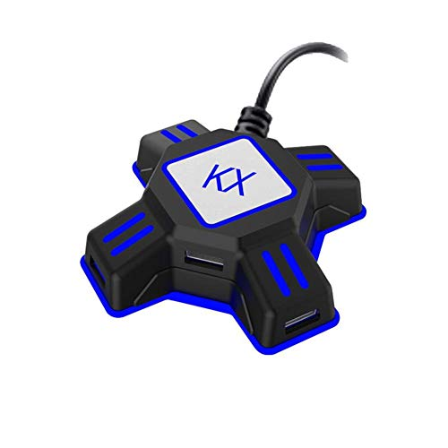 - Tastatur-maus-konverter (Kitabetty Adapter, Tastatur-Maus Konverter für PS3 PS4 Xbox One Switch APEX 90,17 x 90,17 x 27 mm)