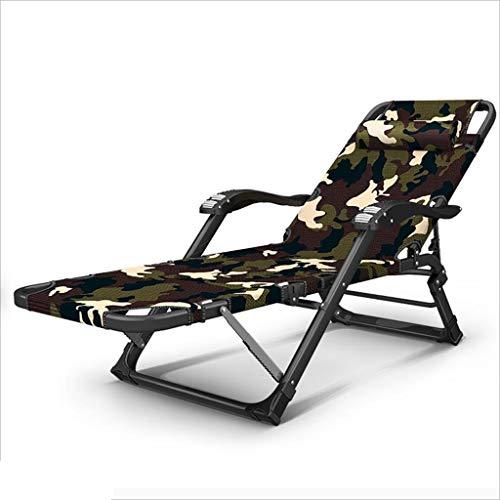 QZ HOME Stühle, Moderner Minimalismus Graues Grün Camouflage Tuch Kann Falten Gestapelt Massage...