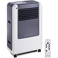 Trotec Pac 3500X Climatiseur portable à 12000BTU, Conditionneur d'air local monobloc 3,4kW, EEK A
