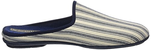 Rondinaud D-e17-Cosson, Chaussons Mules Homme Bleu (Marine)