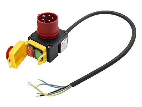 Schalter mit Stecker 400 Volt passend Scheppach HL800e Holzspalter
