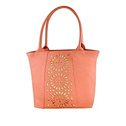 Smartway Women's Handbag (Peach,Swhb-0260)