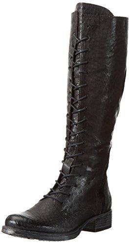 Mjus Damen 185550-0101-6002 Kurzschaft Stiefel Schwarz (Nero)