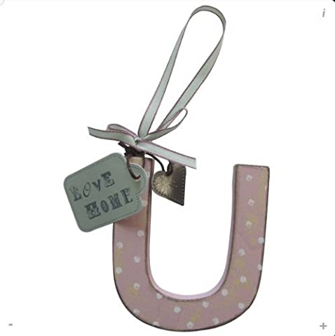 Xpressions 4 U Wooden Hanging Letters Keepsake Gifts Initials Or Names U by Love Home
