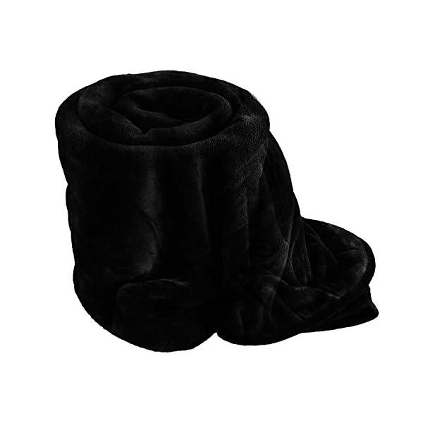 AmigoZone Soft Faux Fake Fur Mink Throw Sofa Bed Blanket 41Y3LV2sbuL