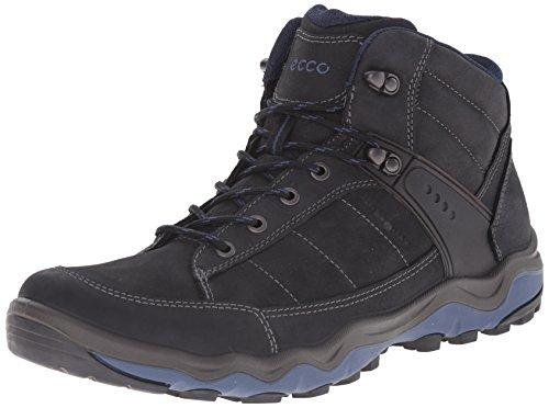 ECCO Ulterra Men's Scarpe Sportive Outdoor, Uomo, Nero(Black/Denim Blue 50608), 42