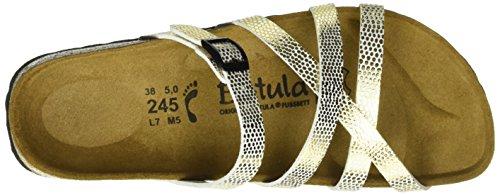 Betula Stripes Cross Buckle, Ciabatte Donna Oro (Gold (Bf Mirror Gold))