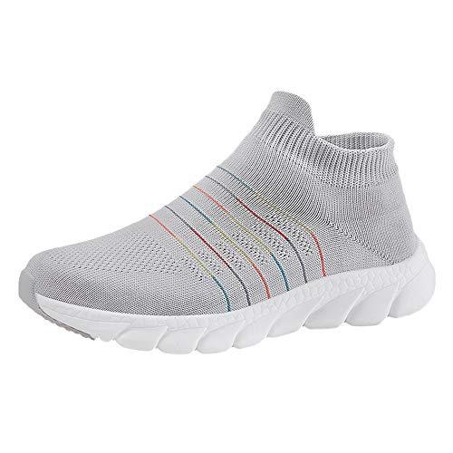 Toasye Ausverkauf Damen Outdoor Trainer Laufschuhe Socken Sportschuhe Atmungsaktiv Lässige Mesh Turnschuhe