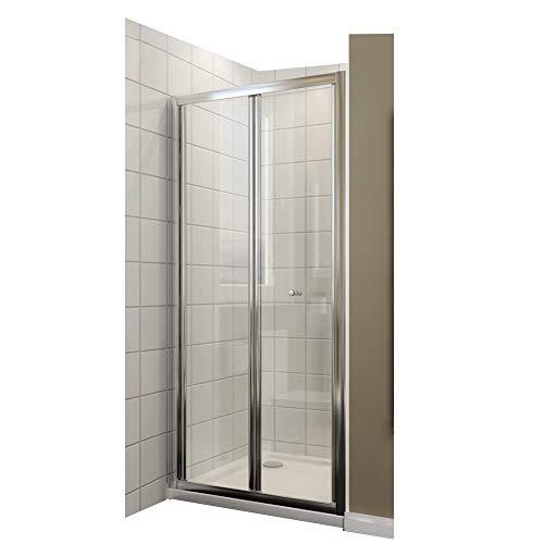 80x185cm Duschkabine Falttür Duschtür Duschwand faltbar