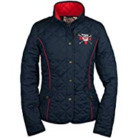 GBR Montreal Ladies Quilted Jacket Navy