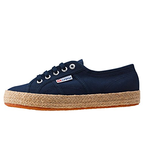 Superga Damen 2750 Cotropew Sneakers Blue